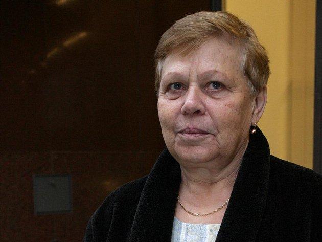Pěstounka Zdeňka Dosedělová.