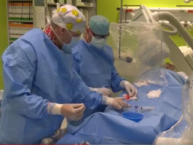 První bezkontrastní koronární angioplastika vČeské republice.