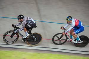 Daniel Babor (na snímku vpravo) vyhrál úvodní etapu závodu 500+1 kolo v Brně.