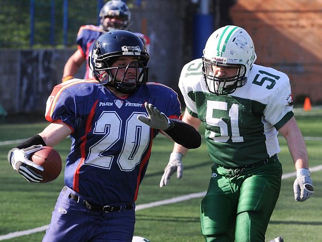 Alligators Brno vs. Pilsen Patriots.