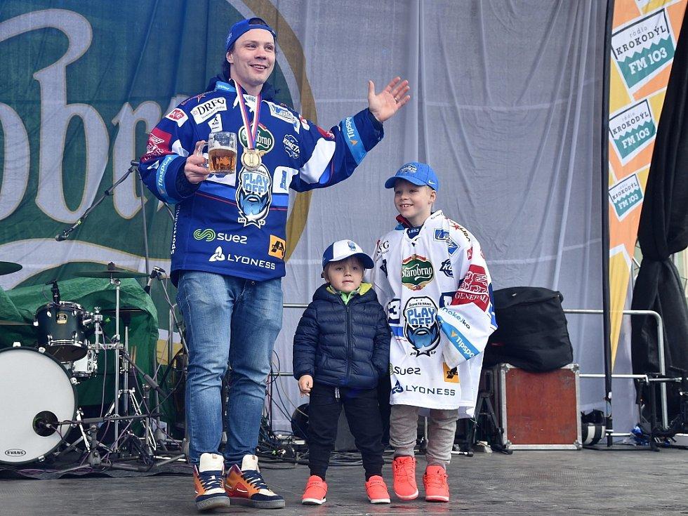 Mistrovské oslavy v Brně si užil i Ondřej Němec.