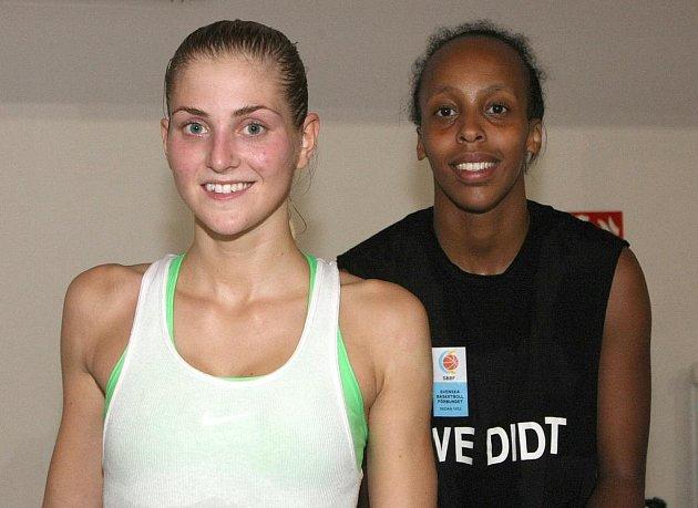 Martina Stålvantová a Farhiya Abdiová.