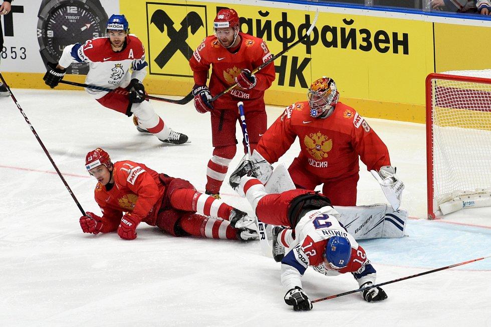Zápas Česká republika - Rusko.