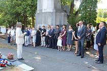 Před devadesáti lety zemřel hudební skladatel Leoš Janáček. Jeho památku u hrobu uctilo asi třicet lidí.