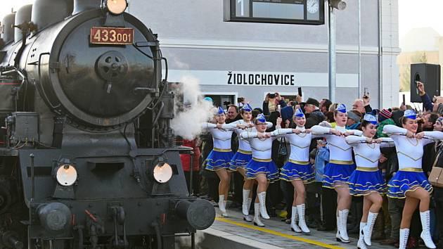 Do Židlochovic přijel Skaličák. Vlaky se tam vrací po čtyřiceti letech