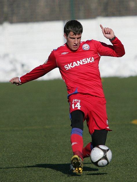 Devatenáctiletý fotbalový útočník Michael Rabušic.