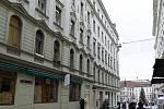 Budova na adrese Zámečnická 2 v centru Brna.