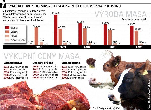 Infografika maso.