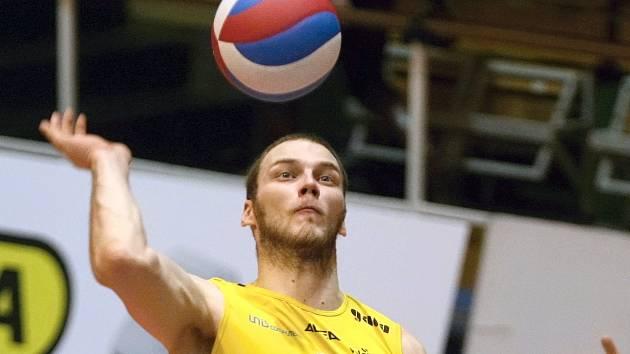 Volejbalista Luboš Smrčina.