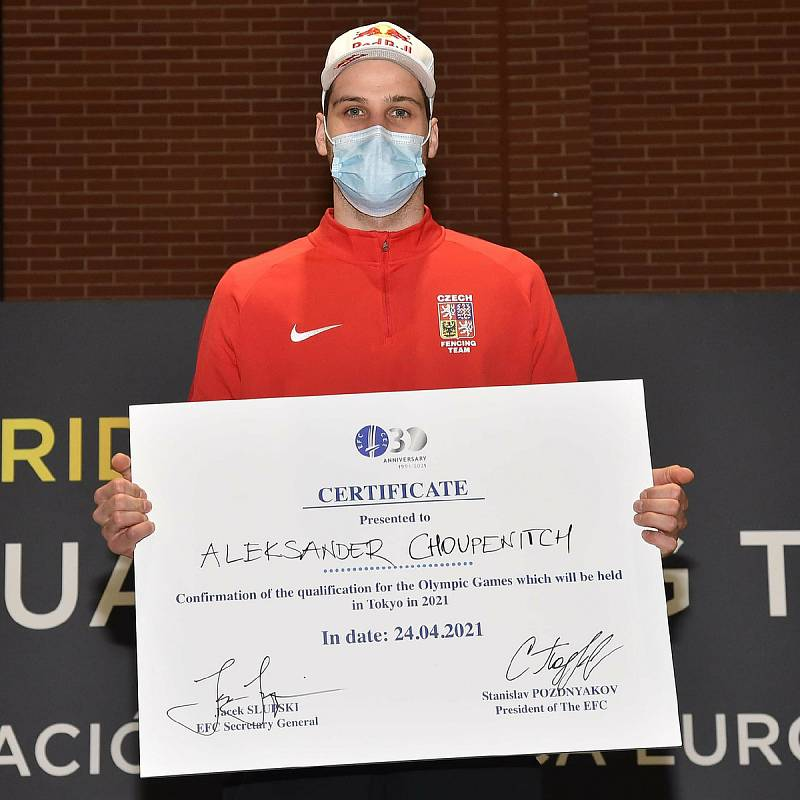Alexander Choupenitch si na kvalifikačním turnaji v Madridu vybojoval nominaci na olympiádu do Tokia.
