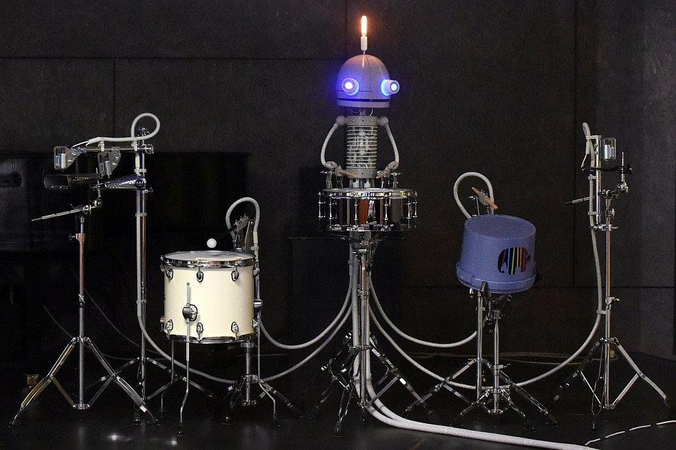Výstava Robot 2020 v brněnském Technickém muzeu.