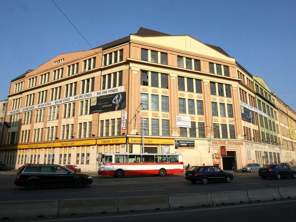 Areál bývalého textilního podniku Vlněna.