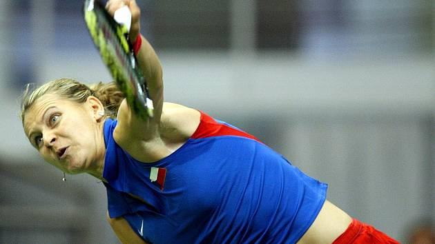 Druhý den Fed Cupu v Brně