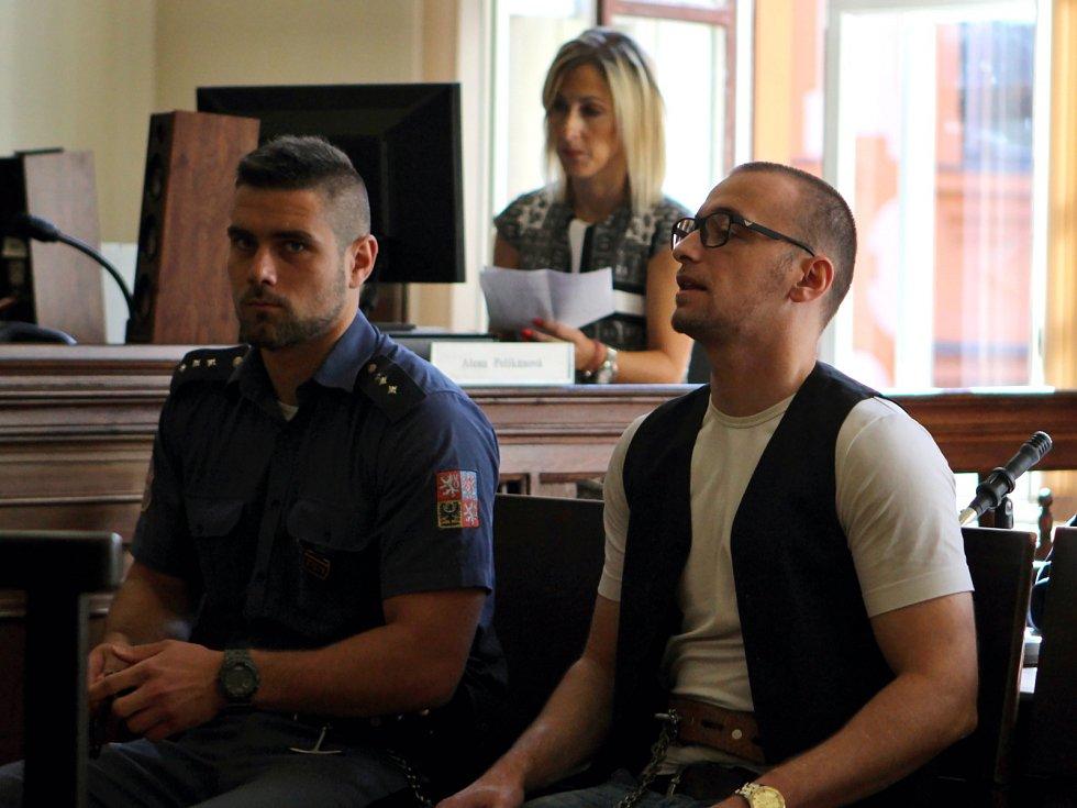 Zoltán Kučera u Krajského soudu v Brně.