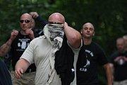 Pochod proti fašismu prošel Pardubicemi
