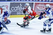Hokejisté Komety se představili na ledě Pardubic.