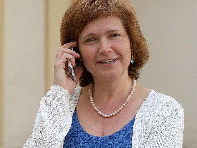 Kandidátka na brněnskou primátorku Jasna Flamiková.