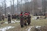 Nadšenci vojenské historie předvedli ve Skalici nad Svitavou rekonstrukci bitvy z druhé světové války, při které Rudá armáda zaútočila na nacistické jednotky u řeky Wisly.