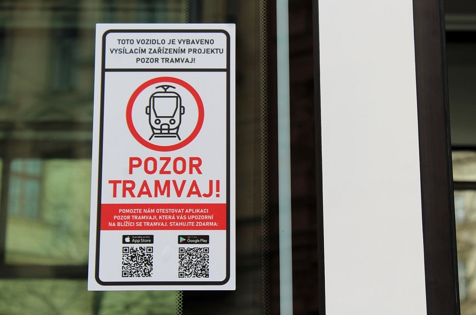 Nová mobilní aplikace Pozor tramvaj!