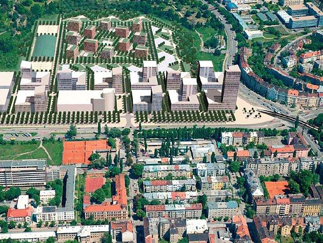 Společnost Czechcity původně nabízela variantu bez opraveného stadionu za Lužánkami.