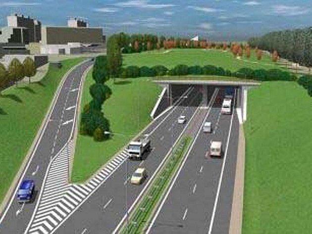 Vizualizace rychlostní silnice R43