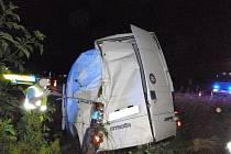 Při tragické nehodě auta a dodávky zemřel řidič.