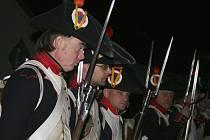 Historické ležení a ukázka bitvy tří císařů v Křenovicích.