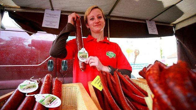 Farmářský trh v brněnských Židenicích. Ilustrační foto.