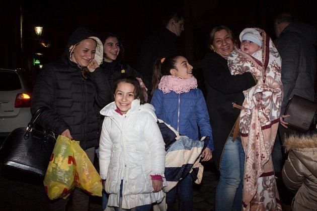 Do Brna přijelo šestnáct křesťanských uprchlíků ziráckého Mosulu. VBrně se jim ovšem nezalíbilo.