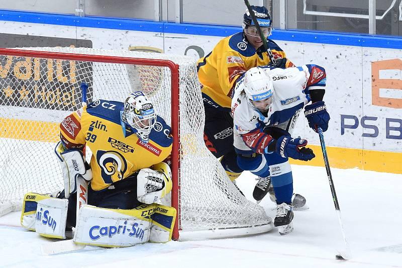 Hokejisté Komety hostili v úvodním domácím utkání sezony Zlín.