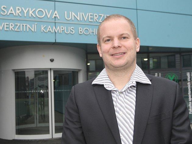 Odborník na kondiční trénink Jan Cacek.