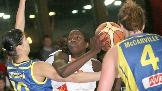Basketbalistky Gambrinusu vyhrály i třetí zápas Evropské ligy. Tentokrát s Košicemi.