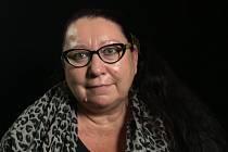 Jiřina Nehybová v roce 2019 při natáčení pro Paměť národa.