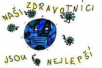 Obrázky pro zdravotníky dětí z Olomučan