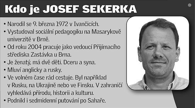 Kdo je Josef Sekerka.