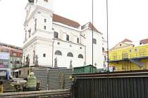 Studnu našli archeologové na Dominikánském náměstí.