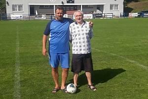 Alexander Malits a jeho otec spojili život s fotbalem.