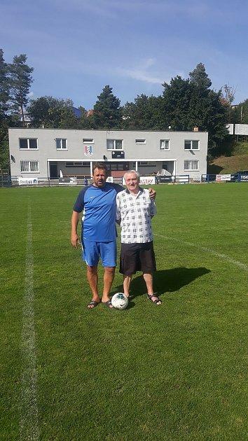 Alexander Malits a jeho otec spojili život sfotbalem.