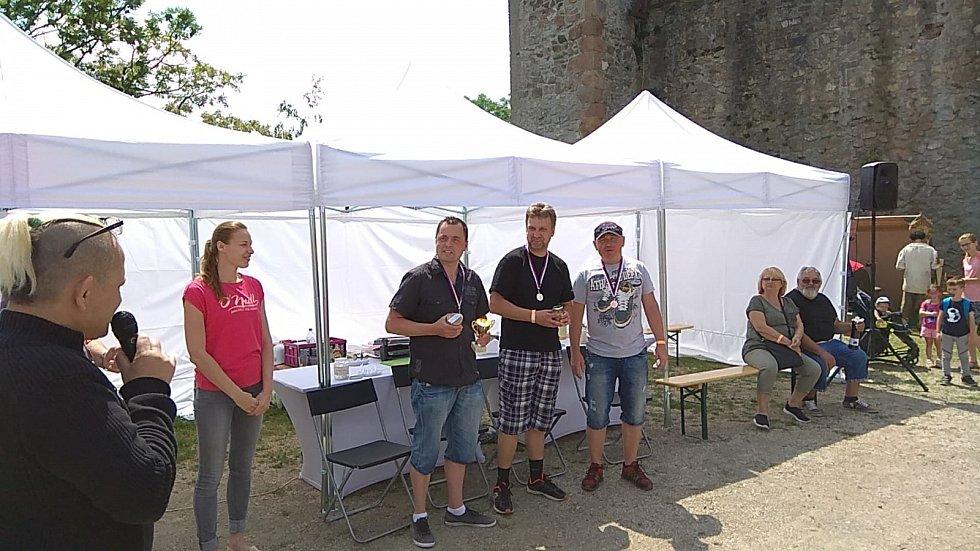 Vítěz dvou pojídacích soutěží Jaroslav Němec.