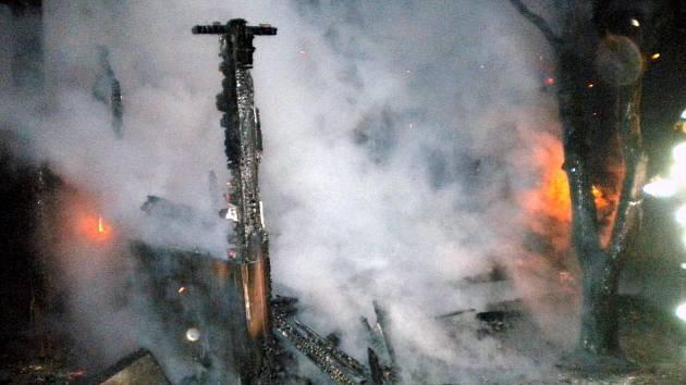 Při požáru zahradní chatky za brněnským pivovarem poblíž Mendlova náměstí v sobotu ráno zemřeli dva lidé.