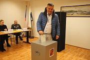 Druhé kolo prezidentských voleb v Hrušovanech nad Jevišovkou na Znojemsku