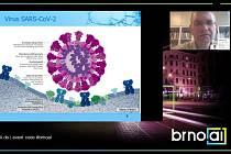 Umělou inteligenci použili v projektu zaměřeném na léky proti novému koronaviru vědci z Masarykovy univerzity. O zkušenosti se podělil profesor Jiří Damborský při představení nové platformy Brno.ai.