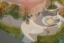 Nové dětské hřiště v brněnském parku Lužánky bude hotové 30. listopadu.