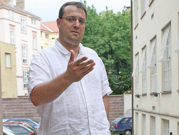 Předseda hustopečské ODS Jiří Kadrnka.