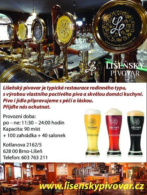 2. Líšeňský pivovar Brno