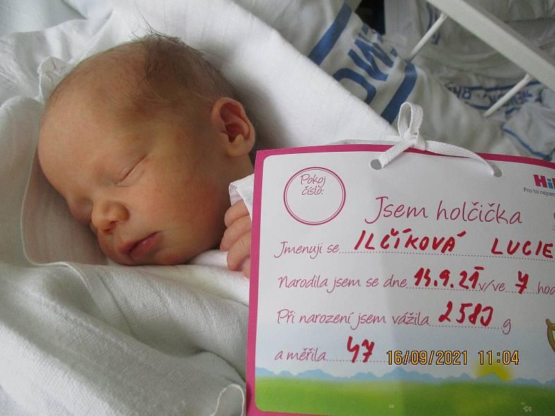 Lucie Ilčíková, 14. 9. 2021, Dubňany, Nemocnice Břeclav, 2583 g, 47 cm