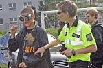 Na začínající a budoucí motorkáře se zaměřili policisté, kteří v úterý dopoledne vyrazili do areálu Integrované střední školy automobilní v Křižíkově ulici v Brně.