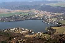Brněnská přehrada.