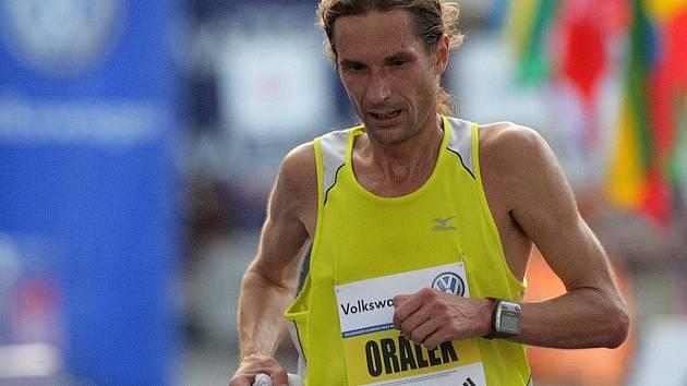 Vytrvalec Daniel Orálek.