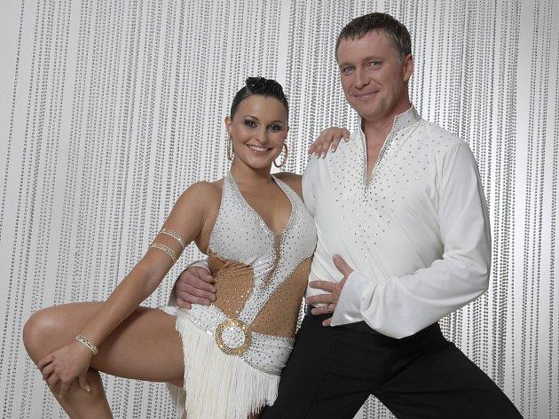 Michaela Gatěková a Michal Dlouhý.
